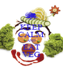 KEEP CALM AND EAT VEG - Personalised Poster A4 size