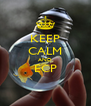 KEEP CALM AND ECP  - Personalised Poster A4 size