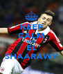KEEP CALM AND EL SHAARAWY - Personalised Poster A4 size