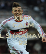 KEEP CALM AND EL SHAARAWY 92 - Personalised Poster A4 size