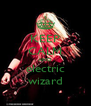KEEP CALM AND electric wizard - Personalised Poster A4 size