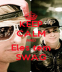 KEEP CALM AND Eles tem SWAG - Personalised Poster A4 size