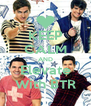 KEEP CALM AND Elevate With BTR - Personalised Poster A4 size