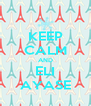 KEEP CALM AND ELI AYASE - Personalised Poster A4 size