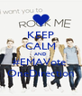 KEEP CALM AND #EMAVote  OneDirection - Personalised Poster A4 size