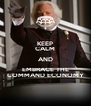KEEP CALM AND EMBRACE THE COMMAND ECONOMY - Personalised Poster A4 size