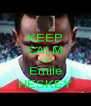 KEEP CALM AND Emile HESKEY - Personalised Poster A4 size