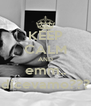 KEEP CALM AND emm.. dicevamo??? - Personalised Poster A4 size