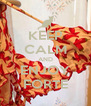 KEEP CALM AND ENJOY FORTE - Personalised Poster A4 size