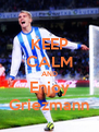 KEEP CALM AND Enjoy Griezmann - Personalised Poster A4 size