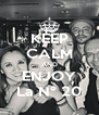 KEEP CALM AND ENJOY La N° 20 - Personalised Poster A4 size