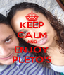 KEEP CALM AND ENJOY PLETO'S - Personalised Poster A4 size