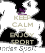 KEEP CALM AND ENJOY SPORT - Personalised Poster A4 size