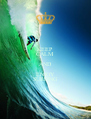 KEEP CALM AND ENJOY SURFING - Personalised Poster A4 size