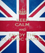 KEEP CALM AND ENJOY THE OLYMPIC GAMES - Personalised Poster A4 size