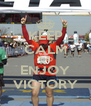 KEEP CALM AND ENJOY VICTORY - Personalised Poster A4 size