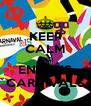 KEEP CALM AND ENJOYS CARNIVALS - Personalised Poster A4 size