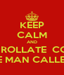 KEEP CALM AND ENROLLATE  CON JOSE MAN CALLEJON - Personalised Poster A4 size