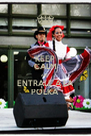 KEEP CALM AND ENTRALE A LA POLKA' - Personalised Poster A4 size