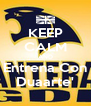 KEEP CALM AND Entrena Con Duaarte' - Personalised Poster A4 size