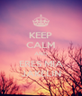 KEEP CALM AND ERES MIA JAKELIN - Personalised Poster A4 size
