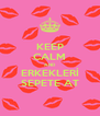 KEEP CALM AND ERKEKLERİ SEPETE AT - Personalised Poster A4 size