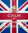 KEEP CALM AND Escute o Geek Na Rede geekhits.net - Personalised Poster A4 size