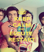 KEEP CALM AND ESCUTE  RESTART - Personalised Poster A4 size