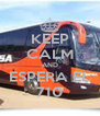 KEEP CALM AND ESPERA EL 710 - Personalised Poster A4 size