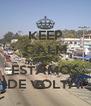 KEEP CALM AND ESTAMOS DE VOLTA! - Personalised Poster A4 size