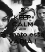 KEEP CALM AND Eu mato essa VADIA ! - Personalised Poster A4 size
