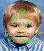 KEEP CALM AND Eu te amo  Kidrauhl  - Personalised Poster A4 size