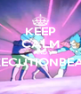 KEEP CALM AND EXECUTIONBEAM  - Personalised Poster A4 size