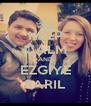 KEEP CALM AND EZGİYE SARIL - Personalised Poster A4 size