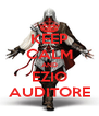 KEEP CALM AND EZIO AUDITORE - Personalised Poster A4 size