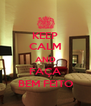 KEEP CALM AND FAÇA BEM FEITO - Personalised Poster A4 size