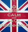 KEEP CALM AND FAÇA ENGENHARIA - Personalised Poster A4 size
