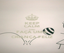 KEEP CALM AND FAÇA UMA CRIANÇA FELIZ - Personalised Poster A4 size
