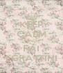 KEEP CALM AND FAI I GRATTINI - Personalised Poster A4 size