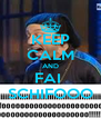 KEEP CALM AND FAI  SCHIFOOO - Personalised Poster A4 size