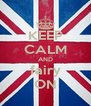 KEEP CALM AND fairy ON - Personalised Poster A4 size