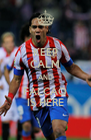 KEEP CALM AND FALCAO IS HERE - Personalised Poster A4 size