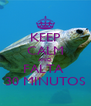 KEEP CALM AND FALTA  30 MINUTOS - Personalised Poster A4 size
