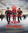KEEP CALM AND falta 42 dias - Personalised Poster A4 size