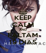 KEEP CALM AND FALTAM 19 DIAS - Personalised Poster A4 size