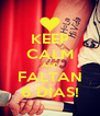 KEEP CALM AND FALTAN 6 DÍAS! - Personalised Poster A4 size
