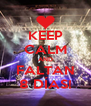 KEEP CALM AND FALTAN 8 DÍAS! - Personalised Poster A4 size