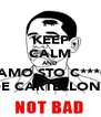 KEEP CALM AND FAMO STO C***O DE CARTELLONE - Personalised Poster A4 size