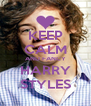 KEEP CALM AND FANCY HARRY STYLES - Personalised Poster A4 size