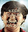 KEEP CALM AND FANGULO PANZONE - Personalised Poster A4 size
